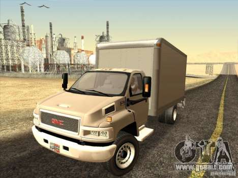 GMC 5500 2001 for GTA San Andreas