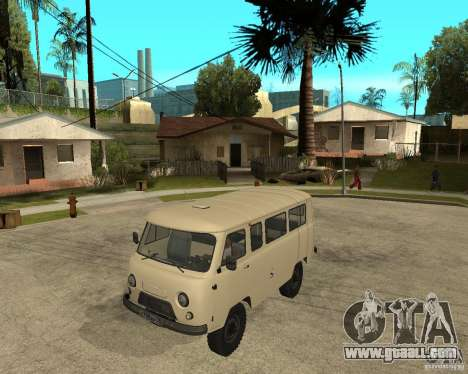 UAZ 2206 for GTA San Andreas