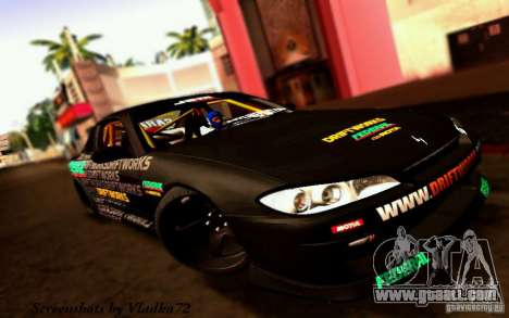 Nissan Silvia S15 Drift Works for GTA San Andreas