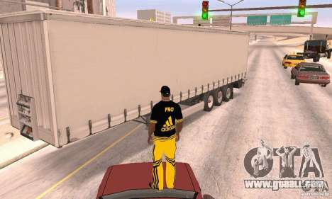 Krone Trailer for GTA San Andreas right view