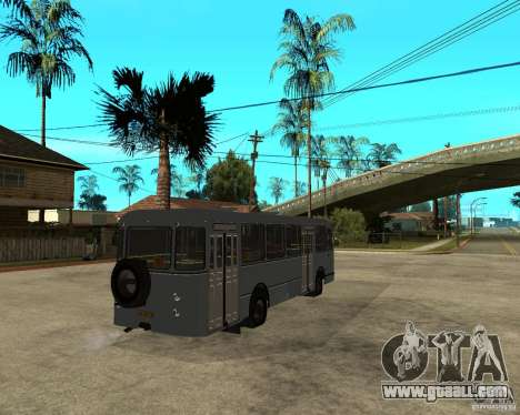 LIAZ 677 for GTA San Andreas back left view
