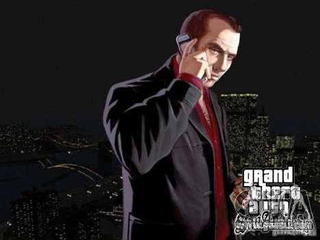 Loading screens of GTA 4 for GTA San Andreas second screenshot