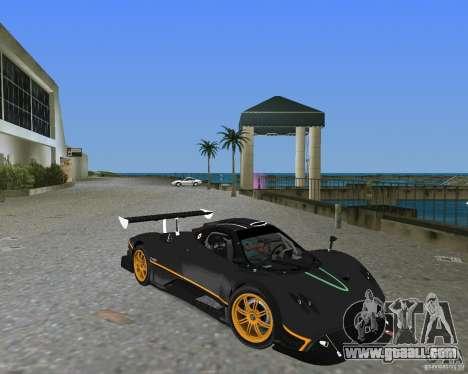 Pagani Zonda R for GTA Vice City