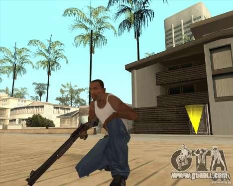 Automatic shotgun for GTA San Andreas second screenshot