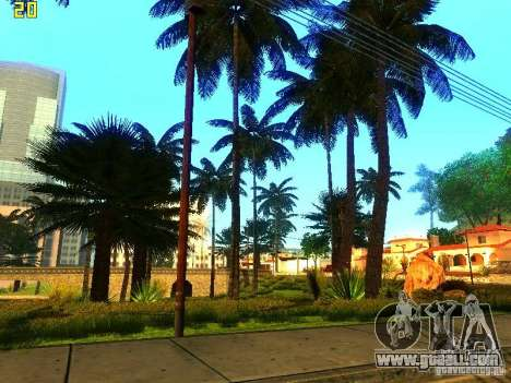 Perfect vegetation v. 2 for GTA San Andreas forth screenshot