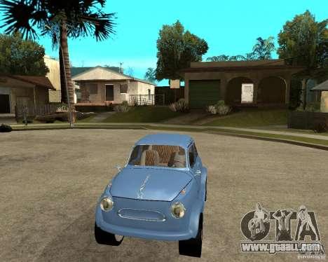 ZAZ 965 Zaporozhets HotRod for GTA San Andreas back view