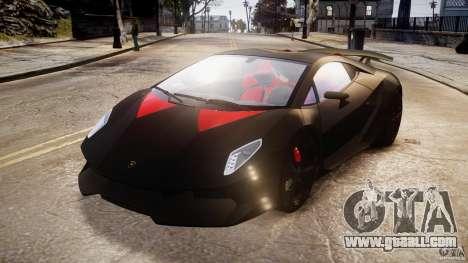 Lamborghini Sesto Elemento 2013 V1.5 for GTA 4 back view