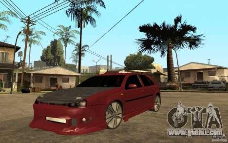Volkswagen Golf GTI 3 Tuning for GTA San Andreas
