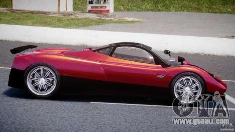 Pagani Zonda F for GTA 4 left view