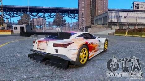 Lexus LFA SH for GTA 4 left view