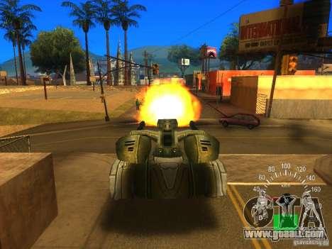 Star Wars Tank v1 for GTA San Andreas back view