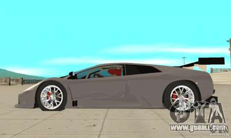 Lamborghini Murcielago R GT for GTA San Andreas left view