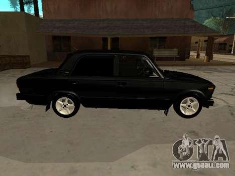21065 VAZ v2.0 for GTA San Andreas back left view