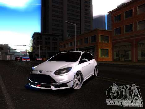 Ford Focus 2012 ST for GTA San Andreas left view