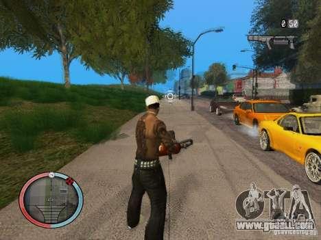 GTA IV HUD Final for GTA San Andreas forth screenshot