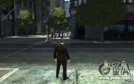 Open jackets with ties for GTA 4 eighth screenshot
