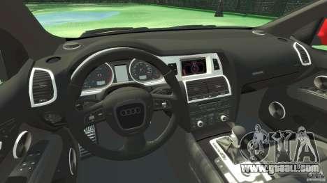 Audi Q7 v12 TDI for GTA 4 back view