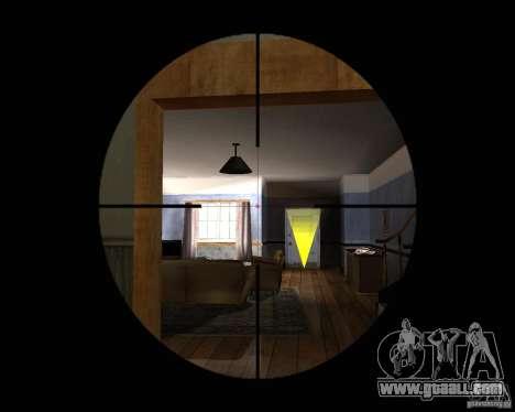 Rifle AS 50 for GTA San Andreas third screenshot