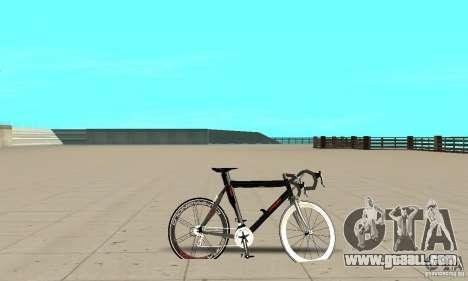 Bike Turmac Legnano for GTA San Andreas back left view