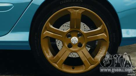 Peugeot 308 GTi 2011 v1.1 for GTA 4 bottom view