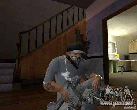 Pp-91 kedr for GTA San Andreas second screenshot