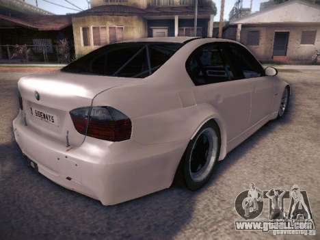 BMW 320SI Drift for GTA San Andreas back view
