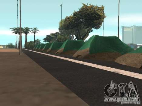 Drift track and stund map for GTA San Andreas third screenshot
