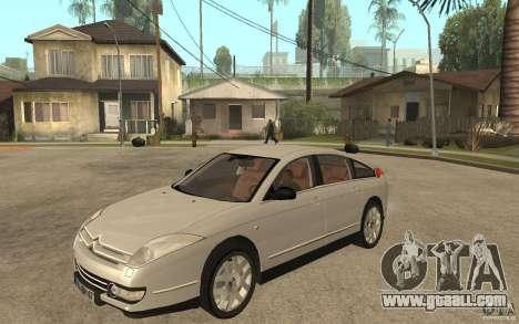 Citroen C6 for GTA San Andreas
