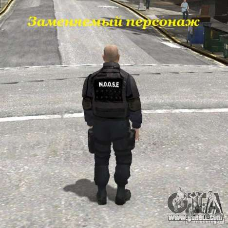 Ultimate NYPD Uniforms mod for GTA 4 second screenshot
