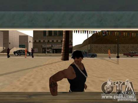 Market on the beach for GTA San Andreas forth screenshot