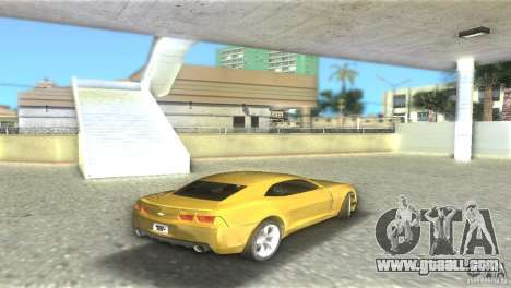 Chevrolet Camaro for GTA Vice City right view