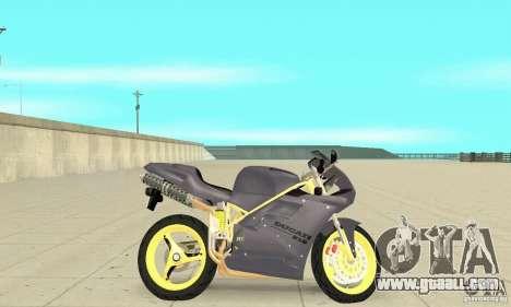 Ducati 916 for GTA San Andreas back left view
