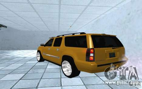 Chevrolet Suburban 2010 for GTA San Andreas left view