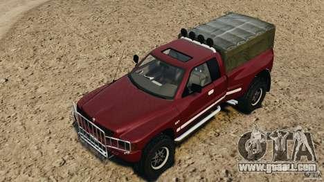 Dodge Ram 2500 Army 1994 v1.1 for GTA 4 interior