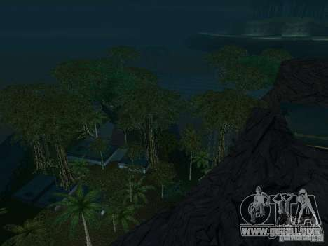 The mystery of the tropical islands for GTA San Andreas eleventh screenshot