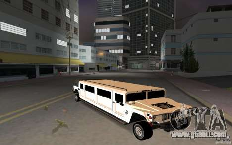 HUMMER H1 limousine for GTA Vice City left view