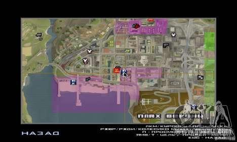 Modern Savehouse interior for GTA San Andreas forth screenshot