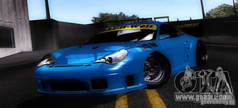 Porsche 911 GT3  RWB for GTA San Andreas left view