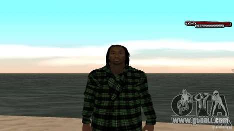 New skin Grove HD for GTA San Andreas