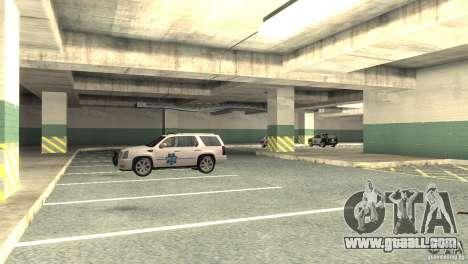 San Fierro Police Station 1.0 for GTA San Andreas forth screenshot