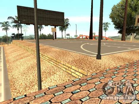 The new basketball court in Los Santos for GTA San Andreas seventh screenshot