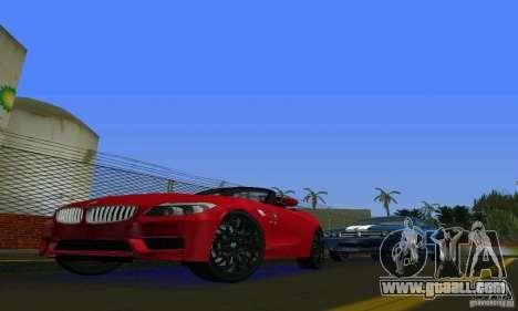 BMW Z4 V10 2011 for GTA Vice City left view
