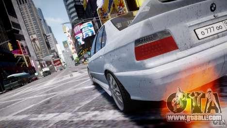 BMW 318i Light Tuning v1.1 for GTA 4 interior