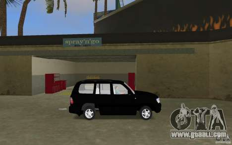 Toyota Land Cruiser 100 VX V8 for GTA Vice City left view