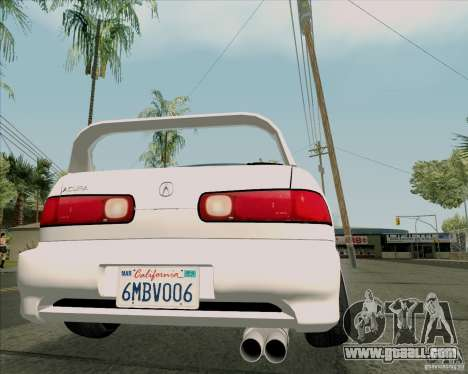 Acura Integra for GTA San Andreas back view