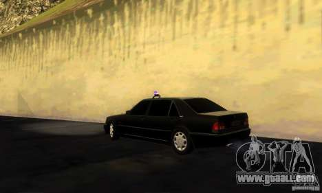 Mercedes-Benz W140 S600 Long Deputat Style for GTA San Andreas left view