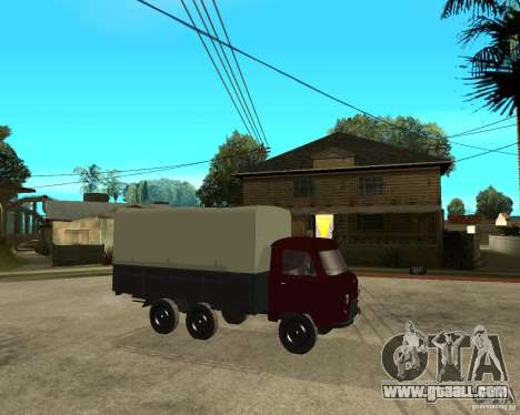 UAZ 452 cargo 6 x 6 for GTA San Andreas right view