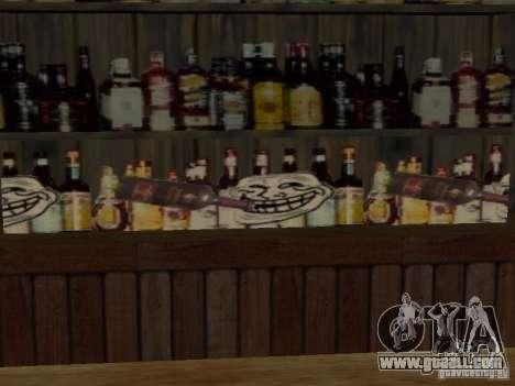 Bar FUCK YES for GTA San Andreas second screenshot