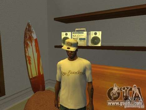 Nike Air Jordan - T-Shirt for GTA San Andreas second screenshot