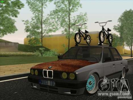 BMW E30 Rat for GTA San Andreas